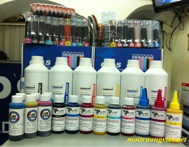 Lập biện pháp phòng ứng phó sự cố hoá chất xưởng mực in