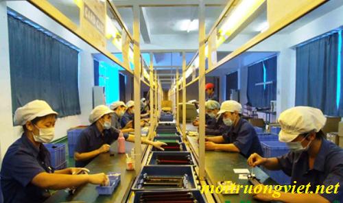 quy trình công nghệ xử lý nước thải mực in